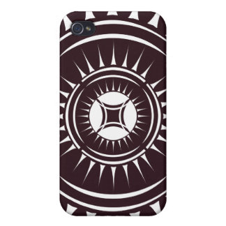 Eye Ray Medallion iPhone 4 Covers