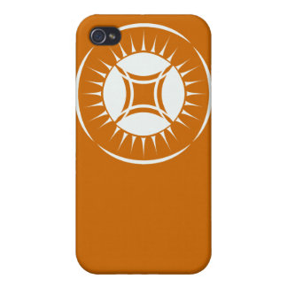 Eye Ray Medallion Case For iPhone 4