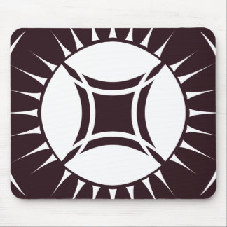 Eye Ray Medallion Mouse Pad