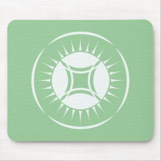Eye Ray Medallion Mouse Pad