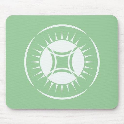 Eye Ray Medallion Mousepad