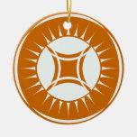 Eye Ray Medallion Ornament