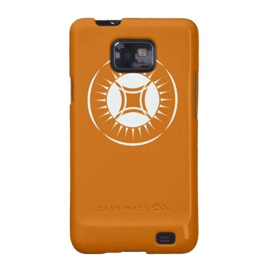 Eye Ray Medallion Samsung Galaxy SII Cover