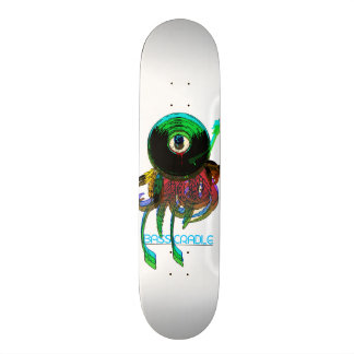Eye Record Trip by Bass Cradle Skateboard Deck