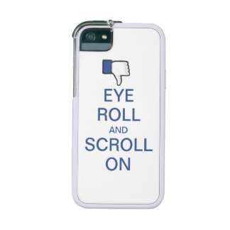 Eye Roll and Scroll On Snarky Facebook Phone SE/5/5s Case