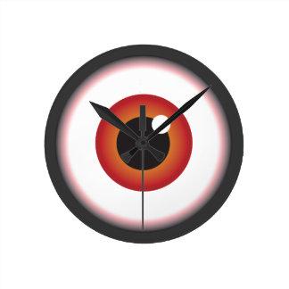 Eye Round Clock