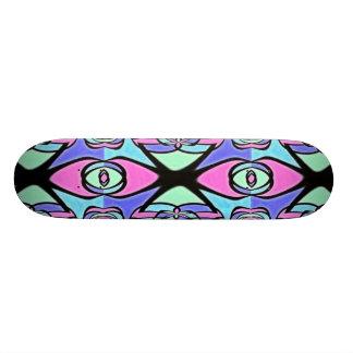 Eye See You Fractal Skateboard