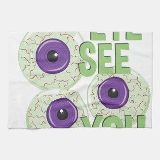 Eye See You Hand Towel