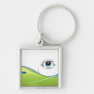 Eye See You Keychain