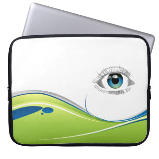 Eye See You Laptop Computer Sleeve