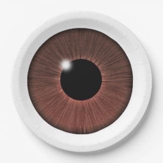 EYE SEE YOU PAPER PLATE