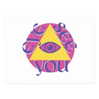 Eye See You Postcard