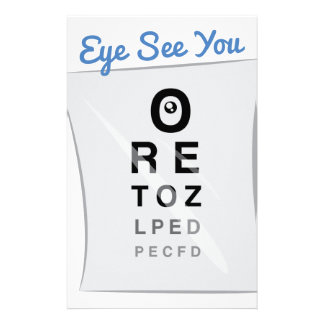 Eye See you Stationery