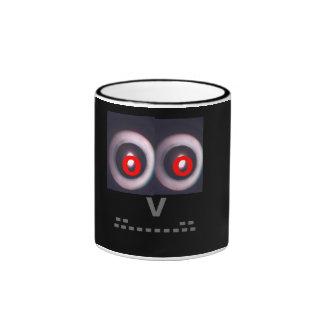 Eye see you! (with red eyes) ringer mug