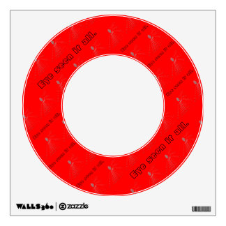 Eye seen it all red Decal