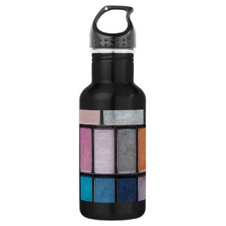 eye-shadow-186756 FASHION BEAUTY MAKEUP COLORFUL e 18oz Water Bottle