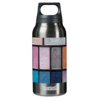 eye-shadow-186756 FASHION BEAUTY MAKEUP COLORFUL e 10 Oz Insulated SIGG Thermos Water Bottle