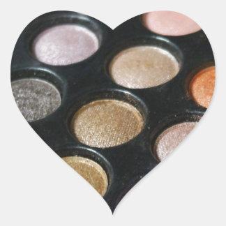 Eye Shadow Heart Sticker