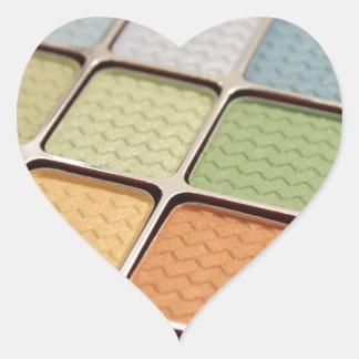 Eye Shadow Makeup Heart Sticker