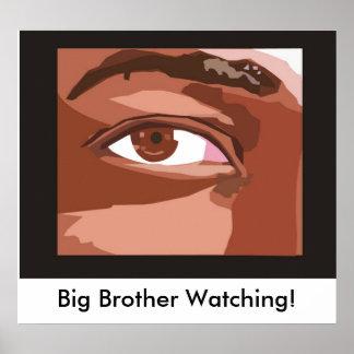 ¡eye_shape_1, observación de hermano mayor! póster