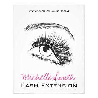 Eye Sketch Mascara Lash Extension Flyer