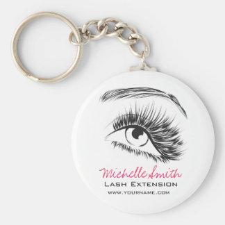 Eye Sketch Mascara Lash Extension Keychain