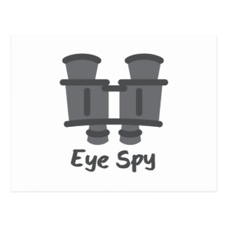 Eye Spy Postcard