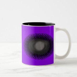Eye Spy Purple Mug