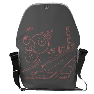 Eye Spy Unique Courier Bag