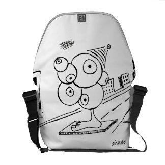 Eye Spy Unique Courier Bag