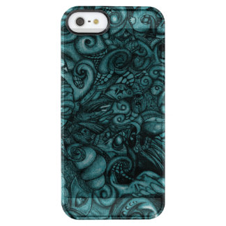 Eye-Spyder Demon Abstract Tribal ArtWork Clear iPhone SE/5/5s Case