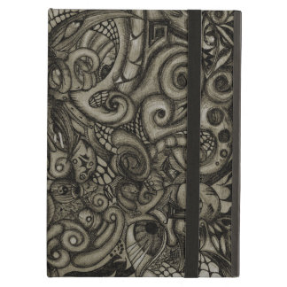 Eye-Spyder Demon Abstract Tribal ArtWork Cover For iPad Air
