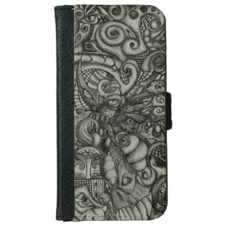 Eye-Spyder Demon Abstract Tribal ArtWork Wallet Phone Case For iPhone 6/6s