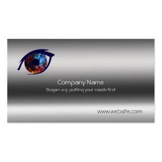Eye - Stellar Nursery R136 Metallic-look template Business Cards