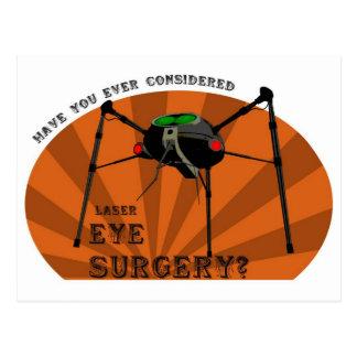Eye Surgery Postcard