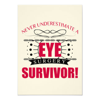 Eye Surgery Survivor Card