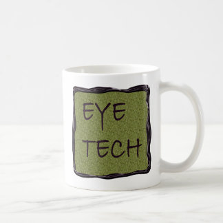 Eye Tech Mug - Sage with Black