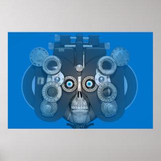 Eye test poster
