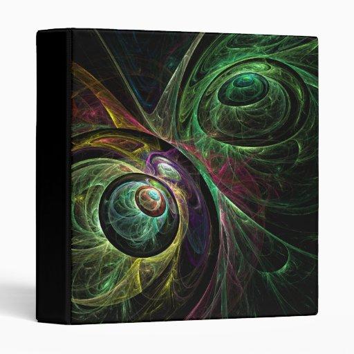 Eye to Eye Abstract Art Binder
