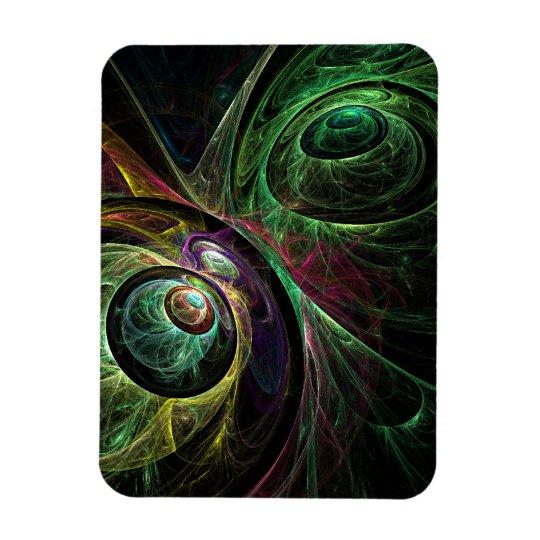 Eye to Eye Abstract Art Premium Magnet