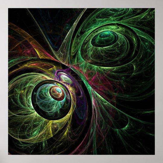 Eye to Eye Abstract Art Print