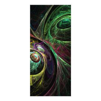 Eye to Eye Abstract Art Rack Card