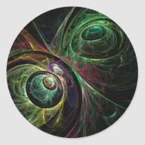 eye, abstract, art, round, sticker, Sticker with custom graphic design
