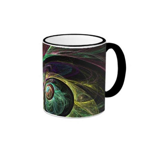 Eye to Eye Abstract Coffee Mug