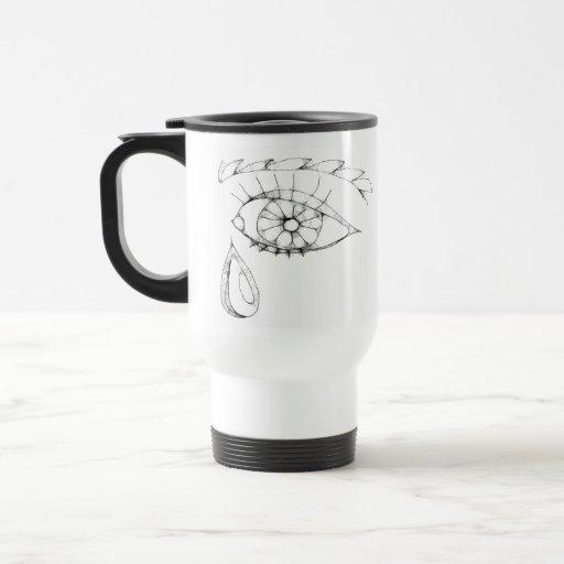 eye - to tear 15 oz stainless steel travel mug