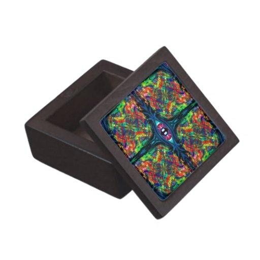 Eye Twisted and Trippy Jewelry Box