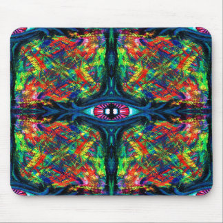 Eye Twisted and Trippy Mouse Pad