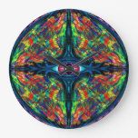 Eye Twisted and Trippy Wall Clock