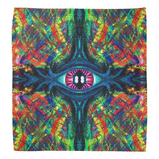 Eye Twisted and Trippy Kerchief