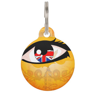 Eye, United Kingdom Pet Name Tags